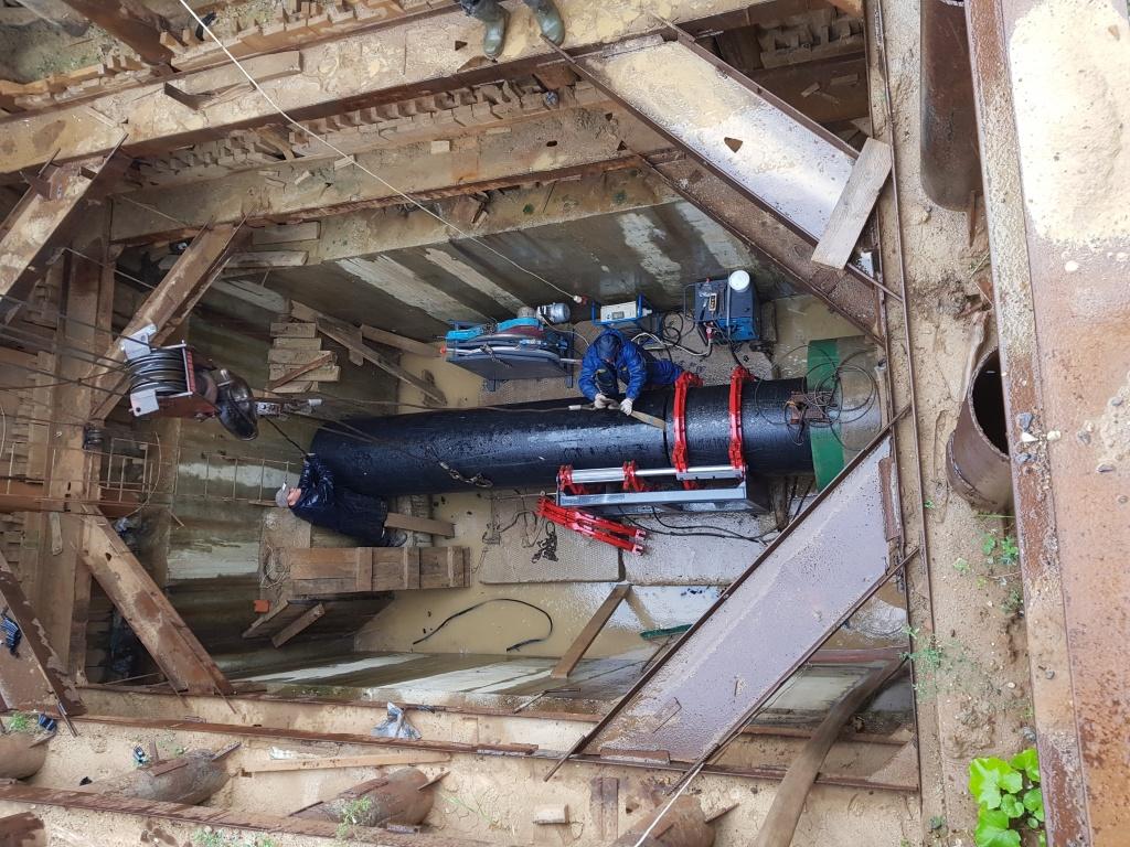 Прокладка канализации от компании ИнжеСтрой